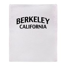 Berkeley California Throw Blanket