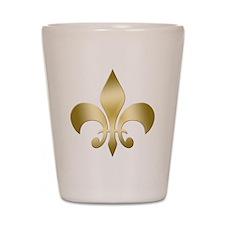 New Orleans Fleur Shot Glass