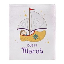 Land of Nod March Throw Blanket