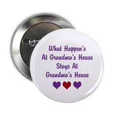"Grandma's House 2.25"" Button"