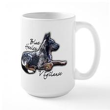 Blue Vigilance - Mug