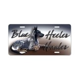 Blue Vigilance - Aluminum License Plate