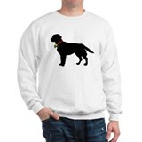 Labrador Retriever Silhouette Sweatshirt