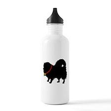 Christmas or Holiday Pomerani Water Bottle