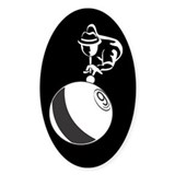 9-Ball Billiards Decal