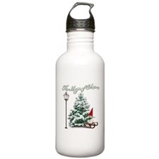The Magic of Christmas Water Bottle