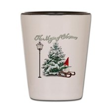 The Magic of Christmas Shot Glass