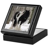 Winter Gypsy Mare Keepsake Box