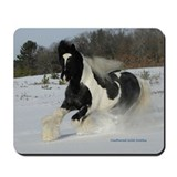 Gypsy Stallion Winter Fun Mousepad