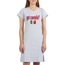 got cannolis Women's Nightshirt