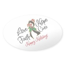 Holiday Hope Melanoma Decal