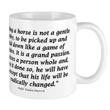 Unique Horse quote Mug