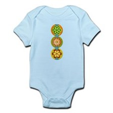 Retro Flowers (Vertical) Infant Bodysuit