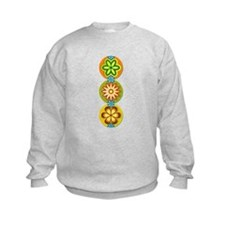 Retro Flowers (Vertical) Sweatshirt