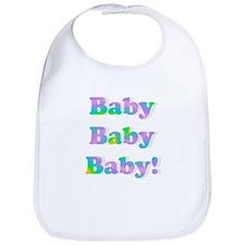 Baby Baby Baby Bib