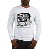 Flying Saucer Diner Long Sleeve T-Shirt
