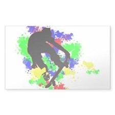 Graffiti Paint Splotches Skat Decal