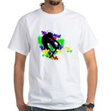 Graffiti Paint Splotches Skat Shirt
