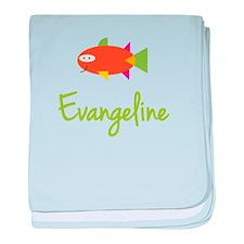 Evangeline is a Big Fish baby blanket
