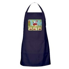 English Bull Terrier Tiki Apron (dark)