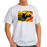 Skateboarding in the Bowl Sil T-Shirt