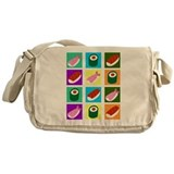 Sushi Pop Art Messenger Bag