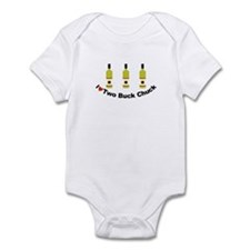 I Love Two Buck Chuck Infant Bodysuit