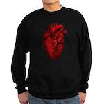 Anatomical Heart Sweatshirt (dark)