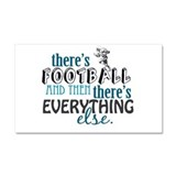 Football is Everything Car Magnet 20 x 12
