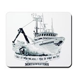 Cute Fv northwestern Mousepad