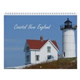 2013 Coastal New England Wall Calendar