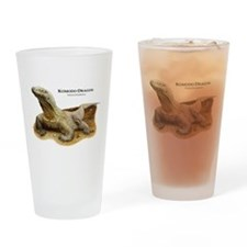 Komodo Dragon Drinking Glass