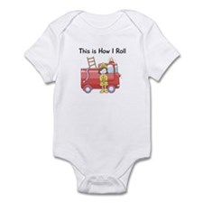 This is How I Roll Girl Infant Bodysuit