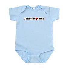 Cristofer Loves Me Infant Creeper