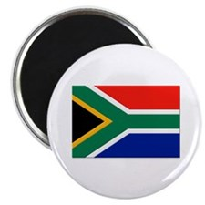 "South Africa Flag 2.25"" Magnet (100 pack)"