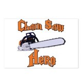 Chain Saw Hero Chainsaw Postcards (Package of 8)