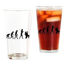 Paintball Evolution Drinking Glass