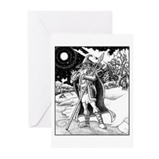 Odhin Father Yule Greeting Cards (Pk of 10)