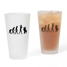 Paintball Evolution Drinking Glass