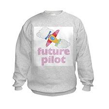 Future Pilot Girl Sweatshirt