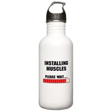 Installing Muscles Water Bottle