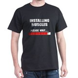 Installing Muscles T-Shirt
