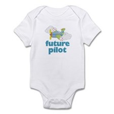 Future Pilot Boy Infant Bodysuit