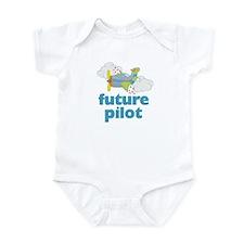 Future Pilot Boy Onesie