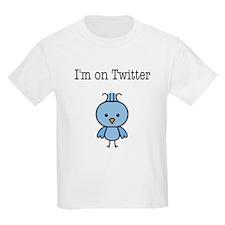 I'm on Twitter T-Shirt