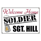 Custom Welcome Home Banner