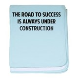 The Road To Success baby blanket