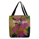 .purple bee balm. Shoulder Bag