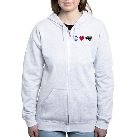 Honey Badger Women's Zip Hoodie