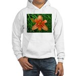 .orange daylily. Hooded Sweatshirt